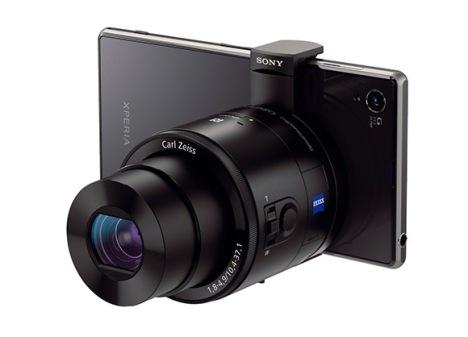 Sony-QX100-telefon