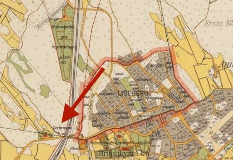 Brännkyrka_nya_begravningsplats_1920-tal
