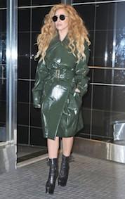 Lady+Gaga+Lady+Gaga+Steps+Out+Shiny+Green+de4MWeR4rwgl